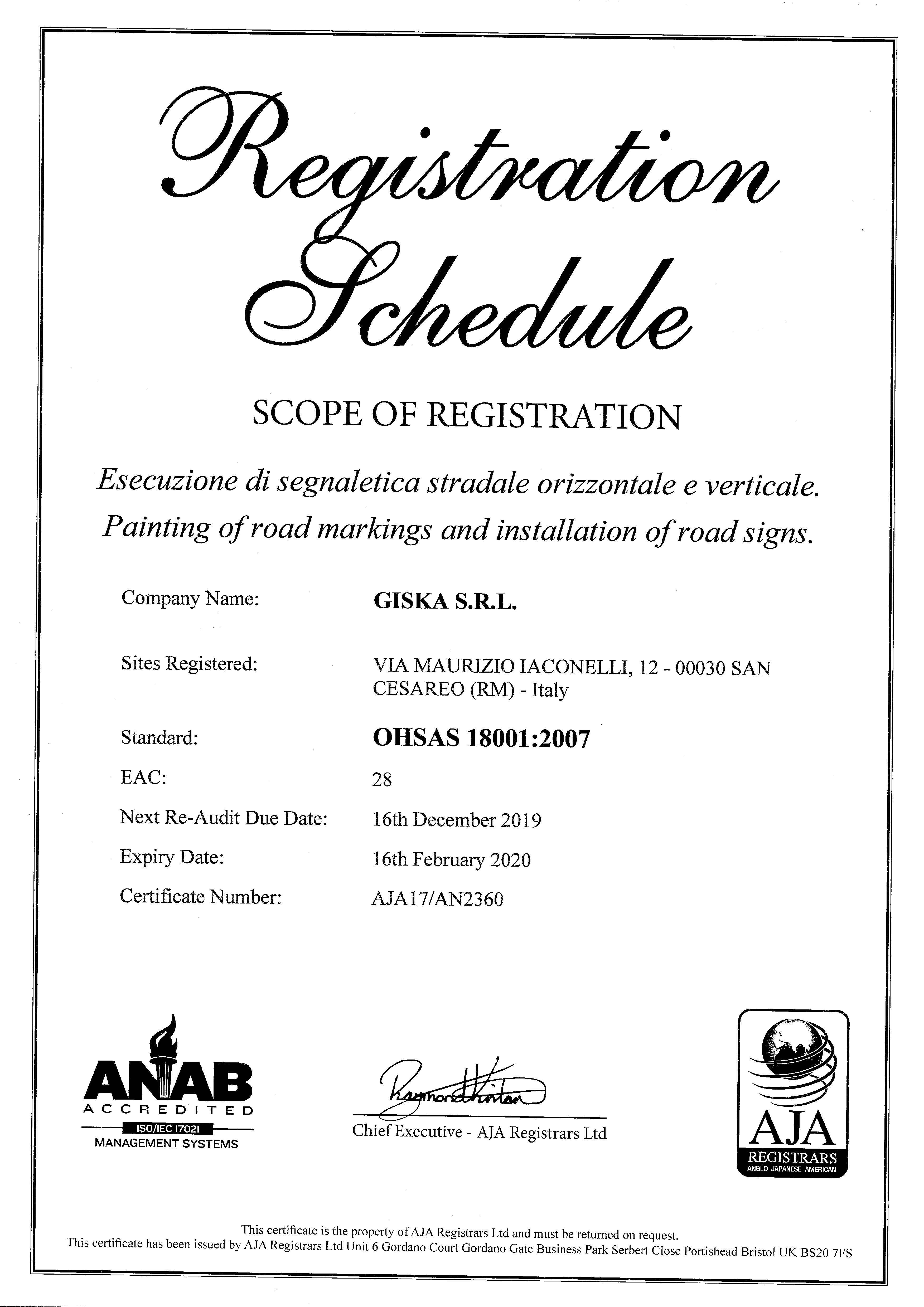 Certificato_OHSAS_GISKA-SRL